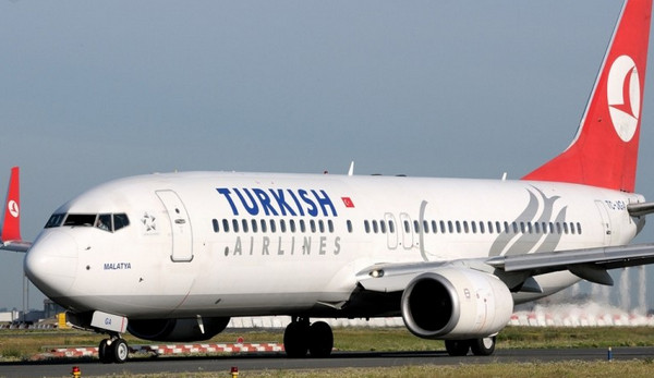 Лайнер Turkish Airlines